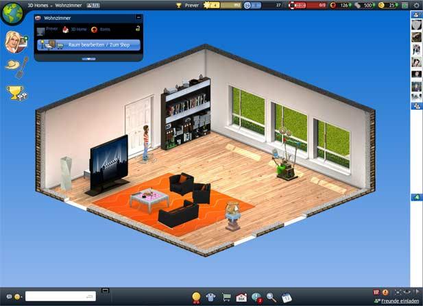 Sein eigenes Zuhause kann bei Smeet eingerichtet werden