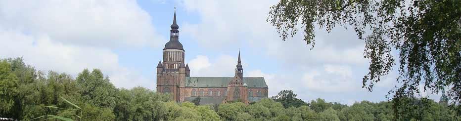 Die Sankt Marien in Stralsund
