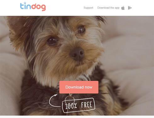 Tindog - Tinder für Hundebesitzer