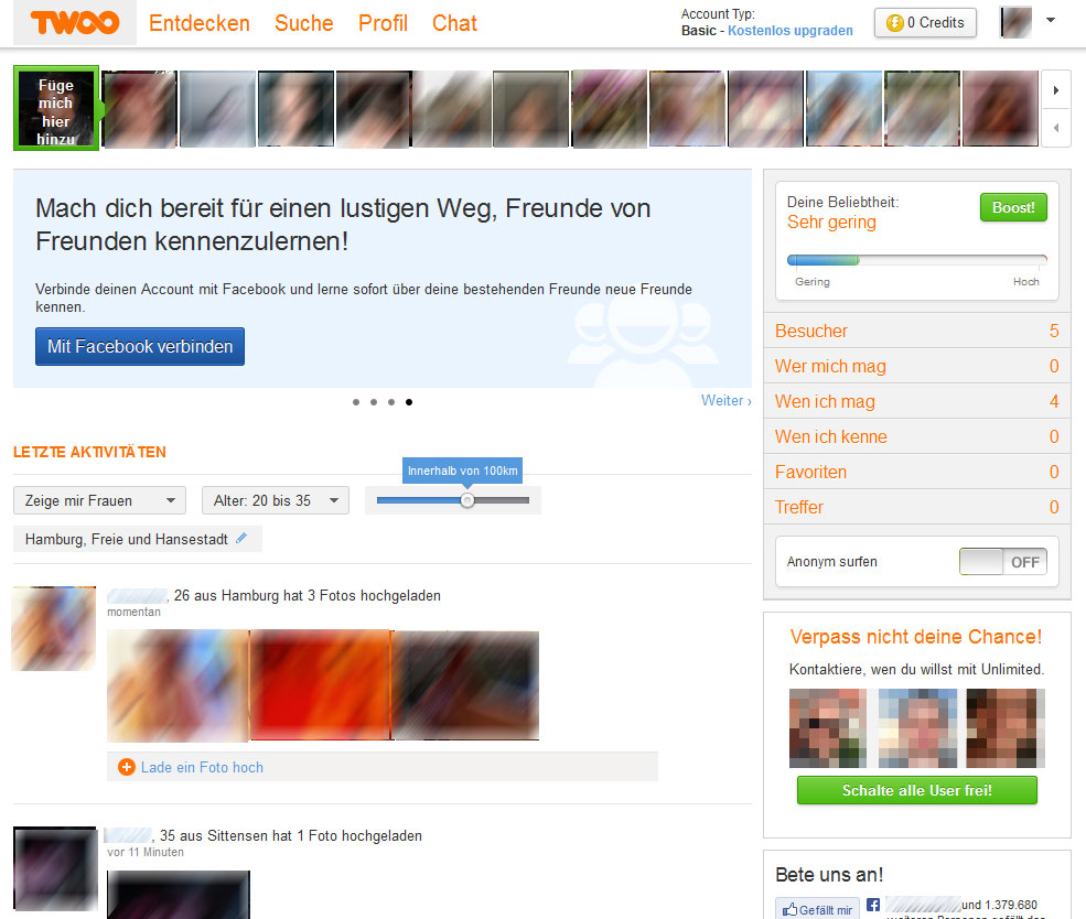 Profile partnersuche