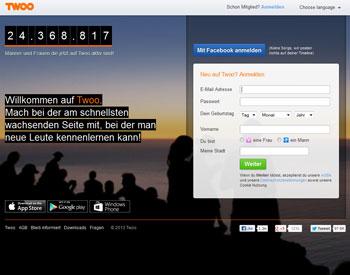 zur Twoo.com - Startseite