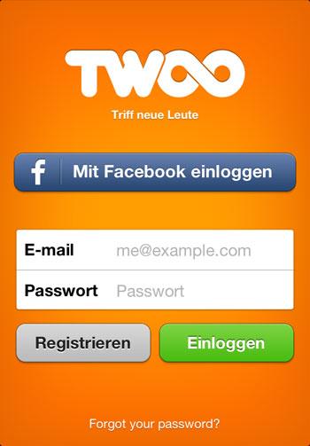 Die mobile Twoo App