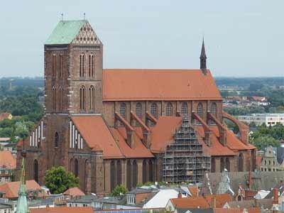 Die Nikolaikirche in Wismar